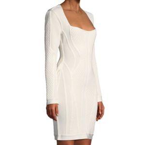 Herve Leger dress. Heavy textile 😍